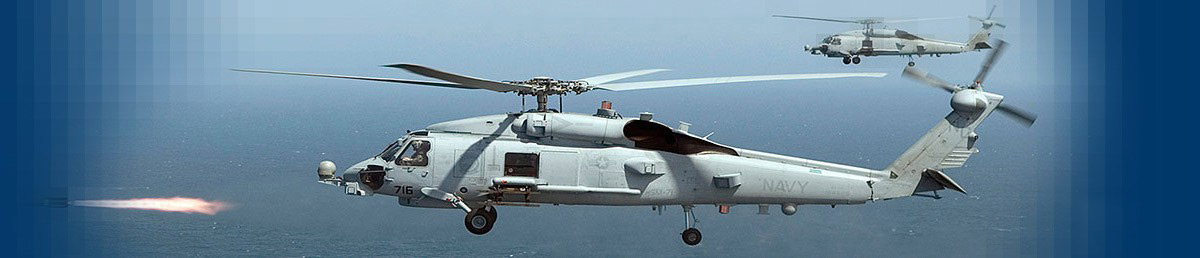 MH-60R Seahawk and Hellfire Missile